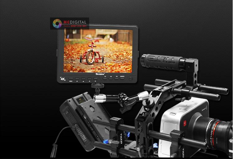 Monitor 7 inch màn hình cổng HD-SDI, HDMI 1920×1080, 4K